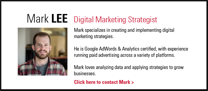 Mark Lee - Digital Marketing Strategist - THIEL Brand Design