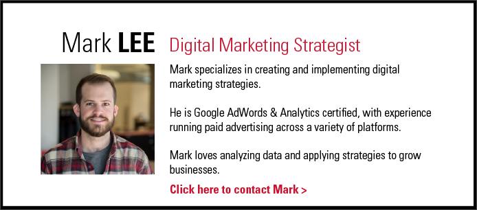 Mark Lee - Digital Marketing Strategist - THIEL Brand Design